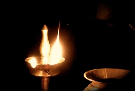 Oil lamp ©Asha Rajan