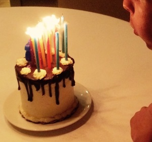 Blowing Candles ©Asha Rajan